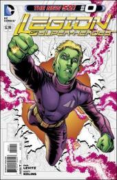 Legion of Super-Heroes (2011) -0- Brainiac's original sin