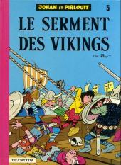 Johan et Pirlouit -5g- Le serment des vikings