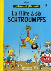 Johan et Pirlouit -9c1989- La flûte à six schtroumpfs