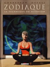 Zodiaque (Delcourt) -8- La Technique du Scorpion
