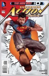 Action Comics (2011) -0- The boy who stole Superman's cape