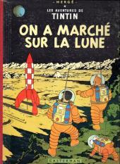 Tintin (Historique) -17B29- On a marché sur la Lune