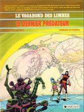 Le vagabond des Limbes -10a1985- Le dernier prédateur