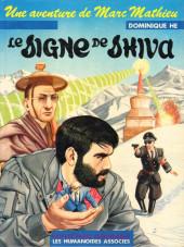 Marc Mathieu (Une aventure de) -5- Le signe de Shiva