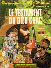 Marc Mathieu (Une aventure de) -4- Le testament du dieu Chac