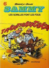 Sammy -6a1986- Les gorilles font les fous