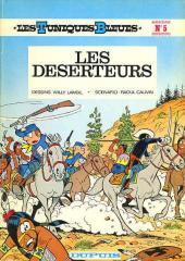 Les tuniques Bleues -5a1978- Les déserteurs