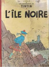 Tintin (Historique) -7B23- L'île noire