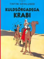 Tintin (en langues étrangères) -9Estonien- Kuldsõrgadega krabi