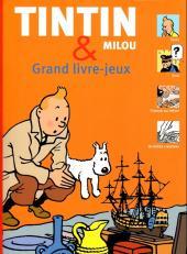 Tintin - Divers -AJ- Tintin & Milou - Grand livre-jeux