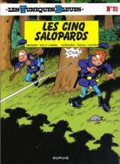 Les tuniques Bleues -21b2011- Les cinq salopards