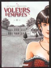 Les voleurs d'Empires -2a2002- Fleurs de peau