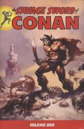Savage sword of Conan (The) (intégrale Dark Horse)) -INT01- Volume One