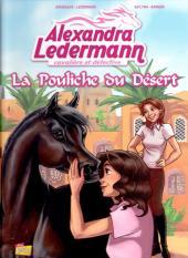 Alexandra Ledermann - Cavalière et Détective -1- La pouliche du désert