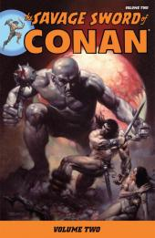 Savage sword of Conan (The) (intégrale Dark Horse)) -INT02- Volume Two