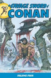 Savage sword of Conan (The) (intégrale Dark Horse)) -INT04- Volume Four