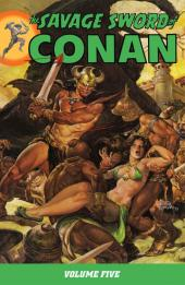 Savage sword of Conan (The) (intégrale Dark Horse)) -INT05- Volume Five