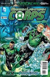 Green Lantern Corps (2011) -13- Rise of the third army : torn