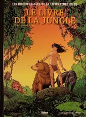 Les indispensables de la Littérature en BD -5- Le Livre de la jungle