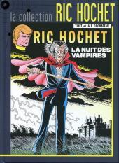 Ric Hochet - La collection (Hachette) -34- La nuit des vampires