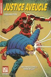 Super Héros (Collection Comics USA) -29- Daredevil : Justice aveugle 3/4 - Résurrection