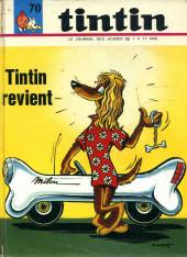 (Recueil) Tintin (Album du journal - Édition française) -70- Tintin album du journal (n°934 à 946)