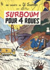 Gil Jourdan -6a77- Surboum pour 4 roues