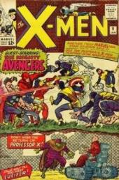 Uncanny X-Men (The) (1963) -9- Enter the avengers