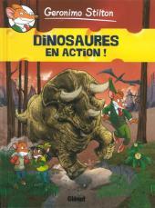 Geronimo Stilton -8- Dinosaures en action !