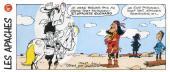 Lucky Luke (Pub et Pastiches) -Suchard- Les Apaches