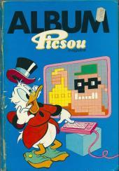 Picsou Magazine -Rec S- (1re série) recueil S (n° 164 à n° 167