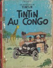 Tintin (Historique) -2B20Bis- Tintin au Congo