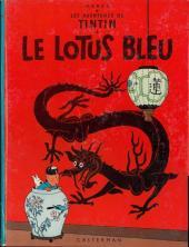 Tintin (Historique) -5B38Bis- Le lotus bleu