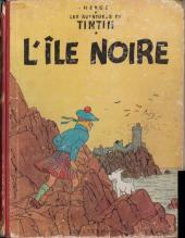 Tintin (Historique) -7B12- L'île noire