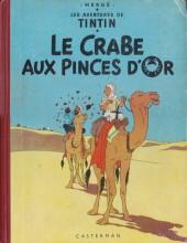 Tintin (Historique) -9B23- Le crabe aux pinces d'or