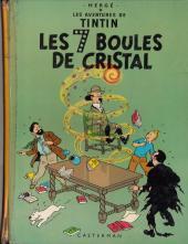 Tintin (Historique) -13B38Bis- Les 7 boules de cristal