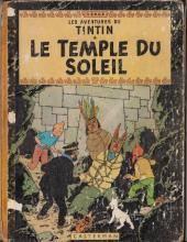 Tintin (Historique) -14B20- Le temple du soleil