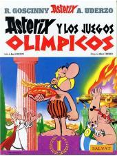 Astérix (en espagnol) -12- Astérix y los juegos olimpicos