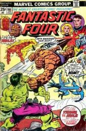 Fantastic Four (1961) -166- If it's tuesday this must be the Hulk