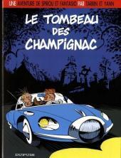 Spirou et Fantasio (Une aventure de.../Le Spirou de...) -3a2009- Le tombeau des Champignac