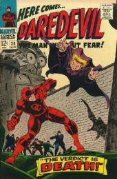 Daredevil Vol. 1 (Marvel - 1964) -20- The verdict is death!