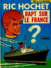 Ric Hochet -6a76- Rapt sur le France