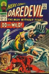 Daredevil Vol. 1 (Marvel - 1964) -23- DD goes wild!