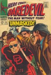 Daredevil Vol. 1 (Marvel - 1964) -29- Unmasked!
