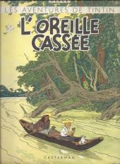 Tintin (Historique) -6A23BIS- l'oreille cassée