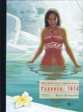 Papeete, 1914 -2TL- Bleu Horizon