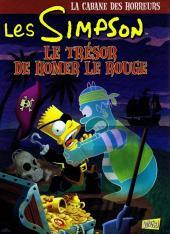 Les simpson (La cabane des horreurs) -4- Le trésor de Homer le rouge