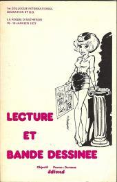 (DOC) Études et essais divers - Lecture et bande dessinée