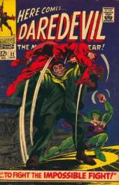 Daredevil Vol. 1 (Marvel - 1964) -32- To fight the Impossible Fight!