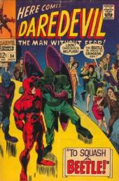 Daredevil Vol. 1 (Marvel - 1964) -34- To squash a Beetle!